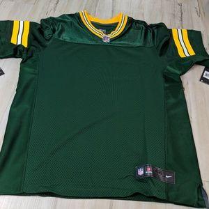 Nike Packers Men Elite NFLPA jersey shirt top 48